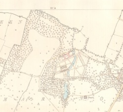 Ordnance Survey of Dublin, Clonturk, Sheet 18–04, 1:2,500 (1867), Facsimile. Details of original: 63 x 97 cm, Glucksman Map Library, Trinity College Dublin
