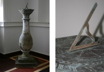 Seacombe Mason II (attrib.) Sundial (nineteenth century), Brass on Stone, Private Collection